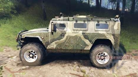 GAZ-2975 Tiger v3.0 pour Spin Tires