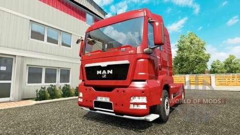 MAN TGS pour Euro Truck Simulator 2