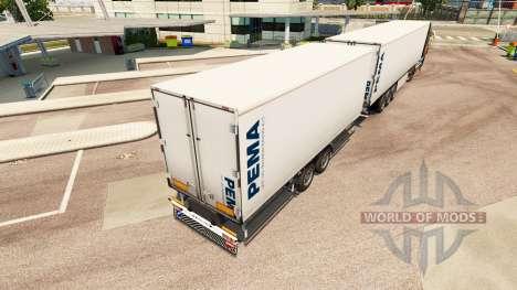 Semi-Remorques Krone Gigaliner [Pema] pour Euro Truck Simulator 2