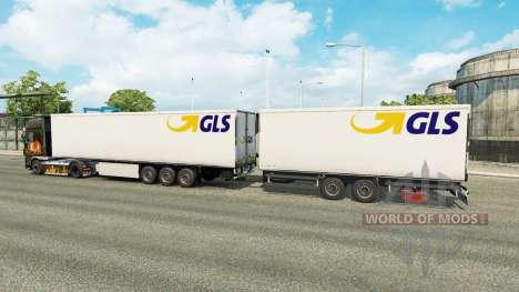 Semi-remorques Krone Gigaliner [GLS] pour Euro Truck Simulator 2