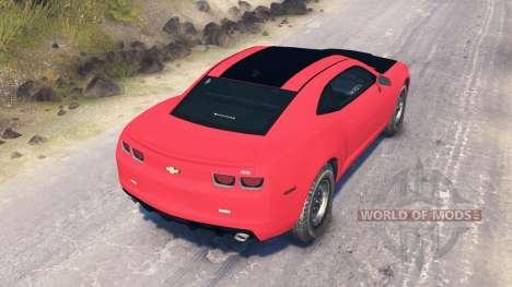 Chevrolet Camaro SS für Spin Tires