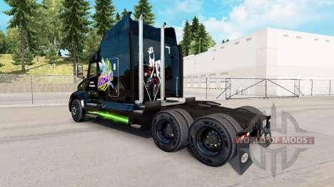 Joker de la peau pour le camion Peterbilt pour American Truck Simulator