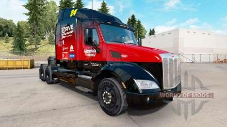 Haut Hendrick v2.0 Peterbilt Zugmaschine für American Truck Simulator