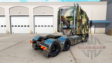 La peau de l'Armée sur le camion Freightliner Ar pour American Truck Simulator