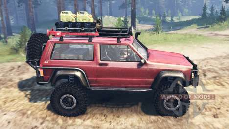 Jeep Cherokee SE pour Spin Tires