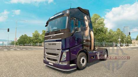 La peau De The Last of Us chez Volvo trucks pour Euro Truck Simulator 2