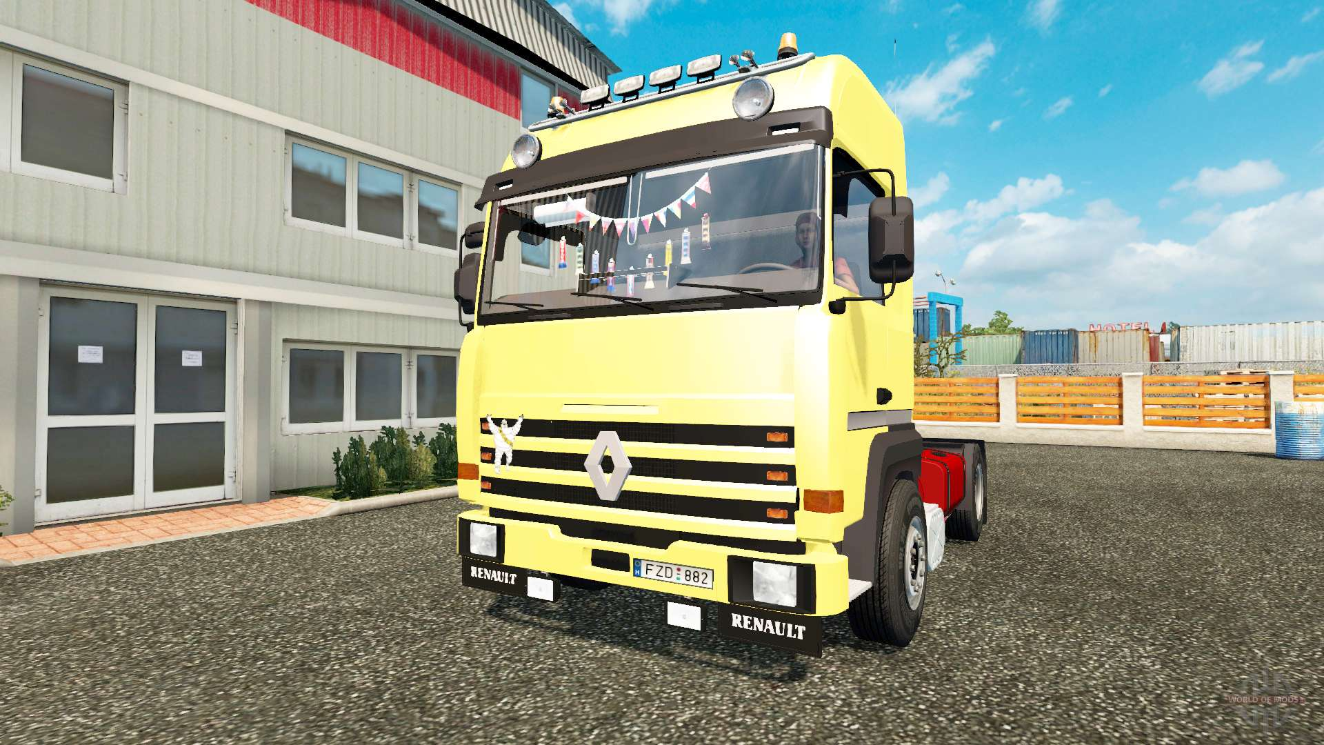 renault major pour euro truck simulator 2. Black Bedroom Furniture Sets. Home Design Ideas