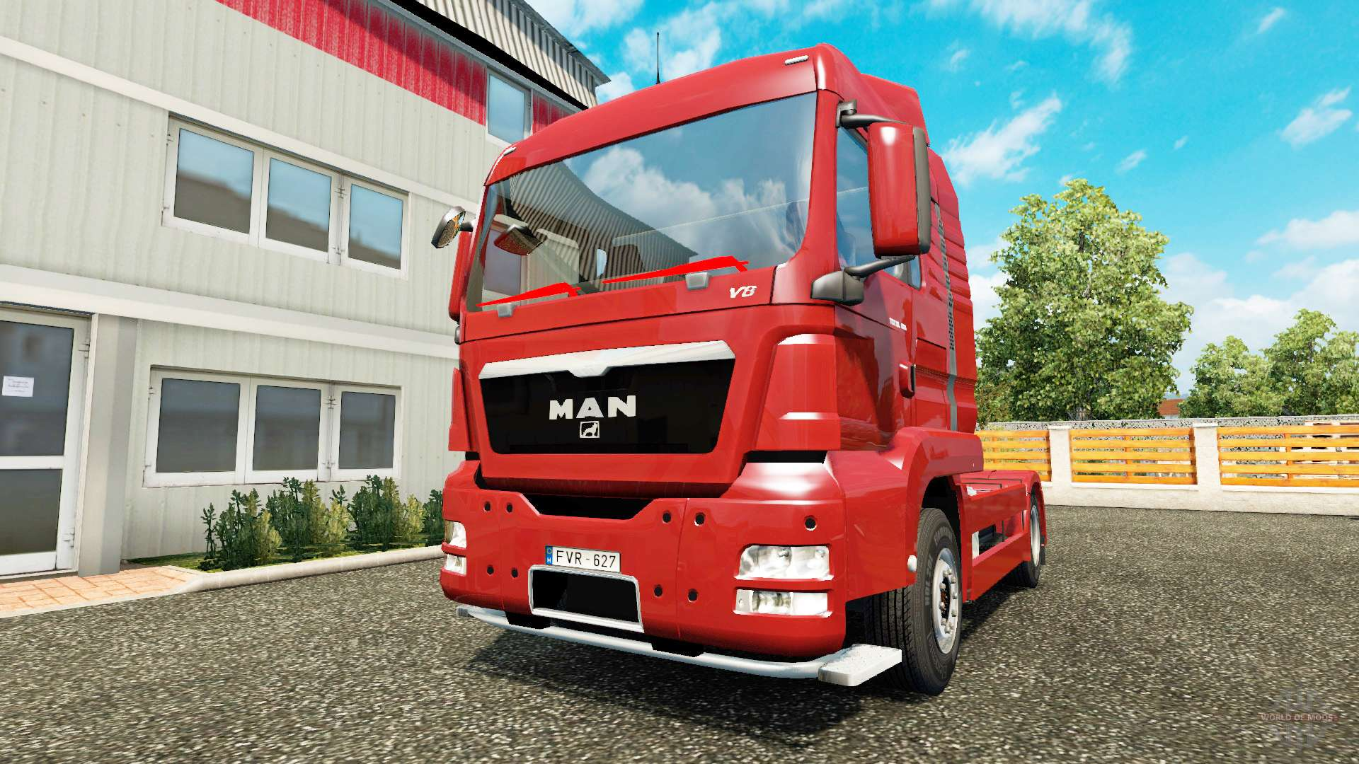 man tgs pour euro truck simulator 2. Black Bedroom Furniture Sets. Home Design Ideas