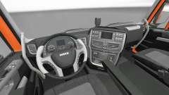 Nouvel intérieur tracteurs Iveco