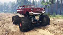 Chevrolet Bel Air Wagon 1957 [monster]