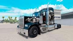 Die Haut auf dem Schädel truck Kenworth W900