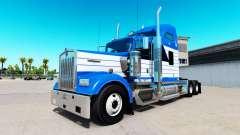 De la peau Blanchir de Transport sur camion Kenw