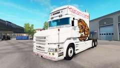 Tragen Haut für LKW Scania T