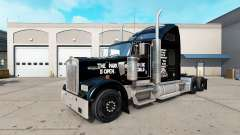 La peau Jurassic World camion Kenworth W900