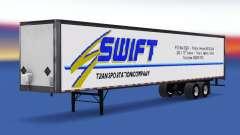 Tous métal-semi-remorque Swift