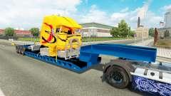 Low sweep mit einem Defekten LKW