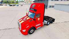 Die Haut San Francisco 49ers auf Traktoren-und P