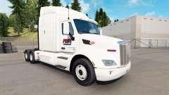 La fierté de Transport de la peau pour le camion