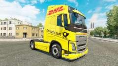 DHL peau pour Volvo camion