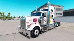 La peau de MS sur le camion Kenworth W900