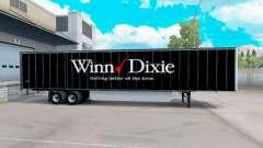 Haut Winn Dixie trailer