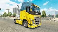 L'Ukraine de la peau pour Volvo camion