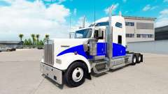 Blue Wave skin für den Kenworth W900 Zugmaschine