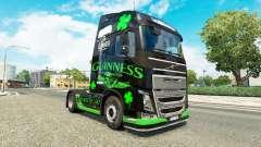 Guinness-skin für den Volvo truck