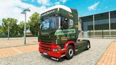 Edwards Transport de la peau pour Scania camion