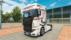 La peau NikoTrans sur tracteur Scania R700