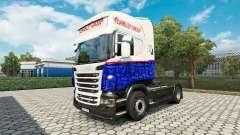 Yearsley de la peau pour Scania camion