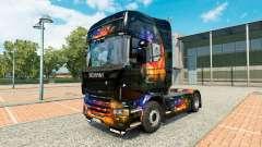 La Couleur de la peau sur le Mur tracteur Scania