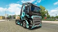 Haut Drache für LKW-Volvo