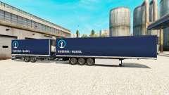 Semi-Remorque Krone Méga-Camions [Kuehne Nagel]