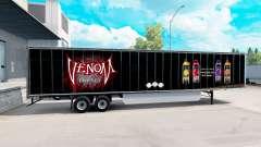 Haut von Venom auf den trailer