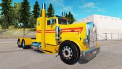 Gelb Benutzerdefinierte skin für den truck Peter