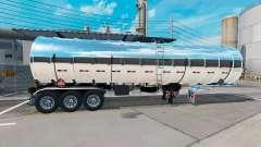 Chrom-Kraftstoff-semi-trailer