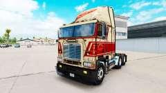 Haut auf Sherman Bros LKW Freightliner FLB