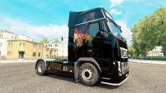 Croate Drapeau de la peau pour Volvo camion