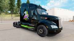 Joker de la peau pour le camion Peterbilt