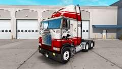 La peau Silver Eagle camion Freightliner FLAG