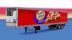 Frigorifique semi-remorque Partie de Pizza