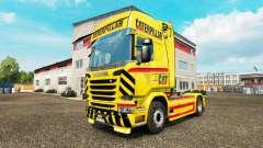 CHAT de la peau pour camion Scania