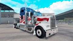 La peau etats-unis camion Kenworth W900