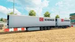 Semi-remorque Krone méga-camions [DB Schenker]