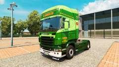 Le S. J. Bargh de la peau pour Scania camion