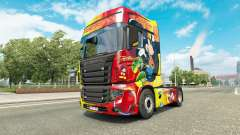 Haut Rostrans Disney Scania R700 truck