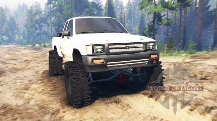 Toyota Hilux Extra Cab 1994 für Spin Tires