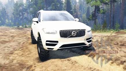 Volvo XC90 für Spin Tires