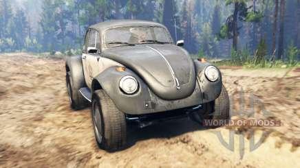Volkswagen Beetle Custom für Spin Tires